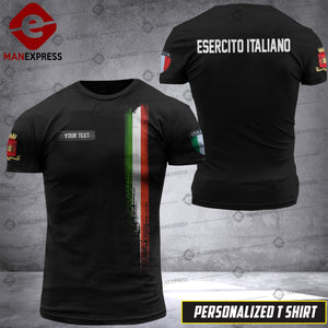 Personalized Italian Warriors 3D printed Tshirt DKZ