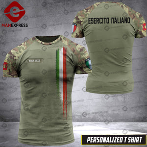 Personalized Italian Warriors 3D printed Tshirt DKZ CM