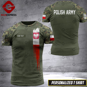 Personalized Polish Warriors 3D printed Tshirt DKZ CM