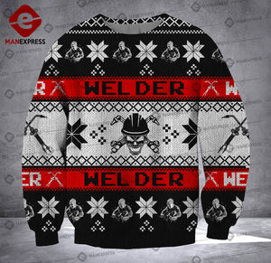 Welder 3D printed Sweater QJC