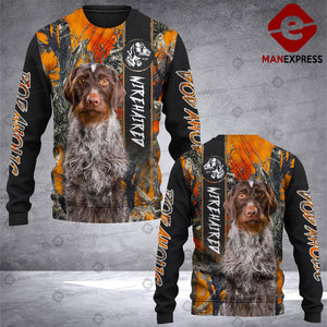 Wirehaired Pointer 3D printed Sweatshirt RHC