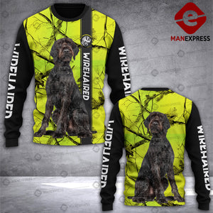 Wirehaired Pointer 3D printed Sweatshirt FJR