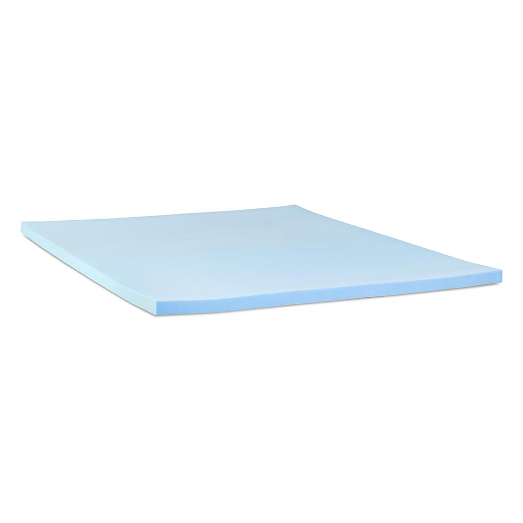3lb Cool Comfort Memory Foam Mattress Topper