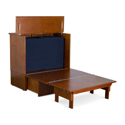 Denva Cabinet Bed - Open 4