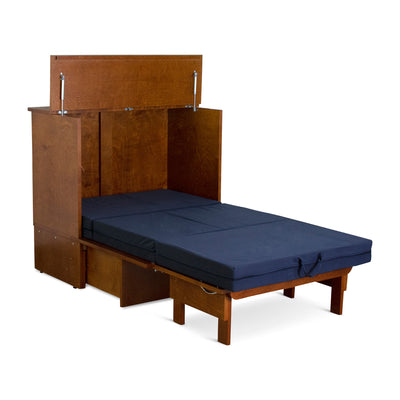 Denva Cabinet Bed - Open 5