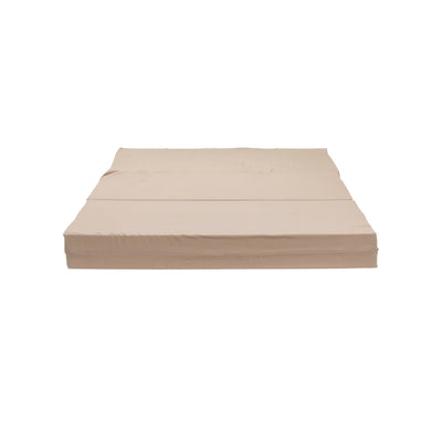 2lb High Density Tri-Fold Mattress Front Flat