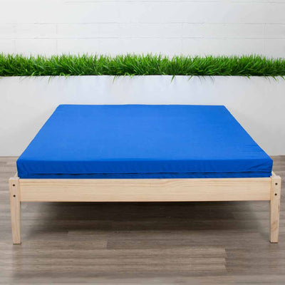 High Resilience Foam Mattress on Bed Frame