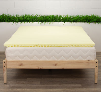 "2"" 2lb High Density Foam Mattress Topper"