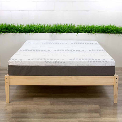 Memory Foam Mattress on Bed Frame