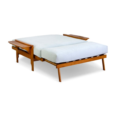 Santa Barbara Loveseat - Bed Arms Out