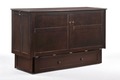 The Clover Murphy Cabinet Bed - Chocolate