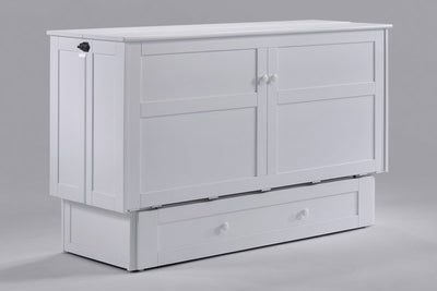 Clover Cabinet Bed White