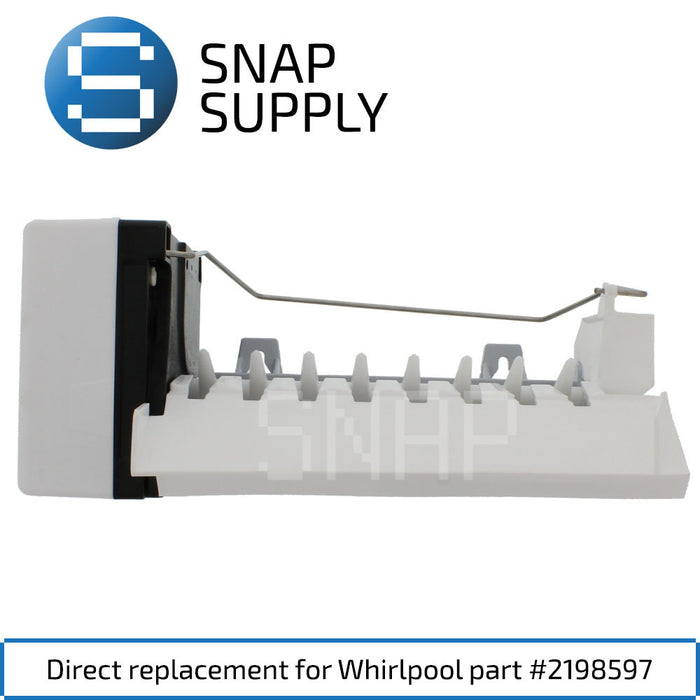 Replacement Ice Maker for SNAP Supply 2198597
