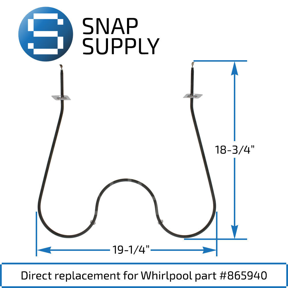 Replacement Bake Element for SNAP Supply 865940