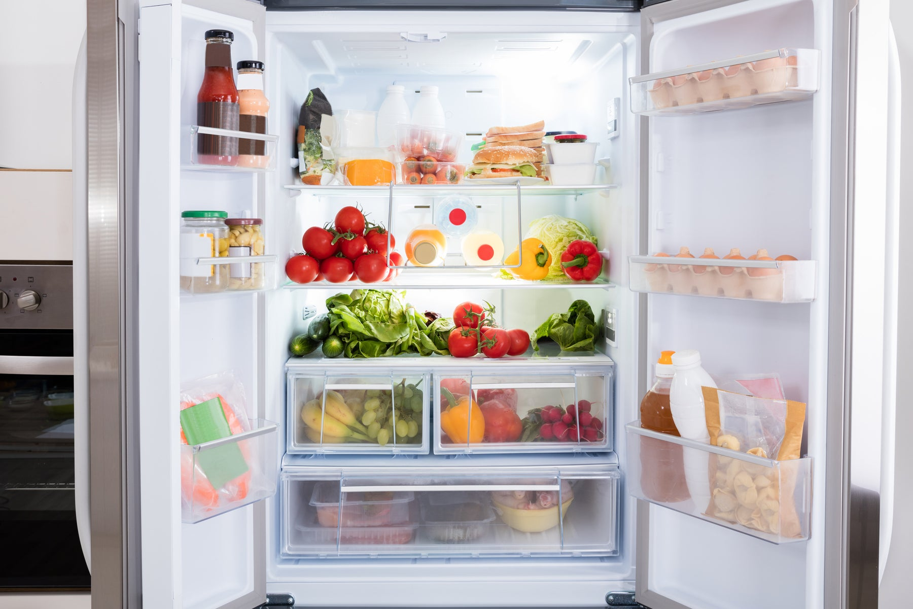 Fall Check In: Refrigerator/Freezer Door Bins