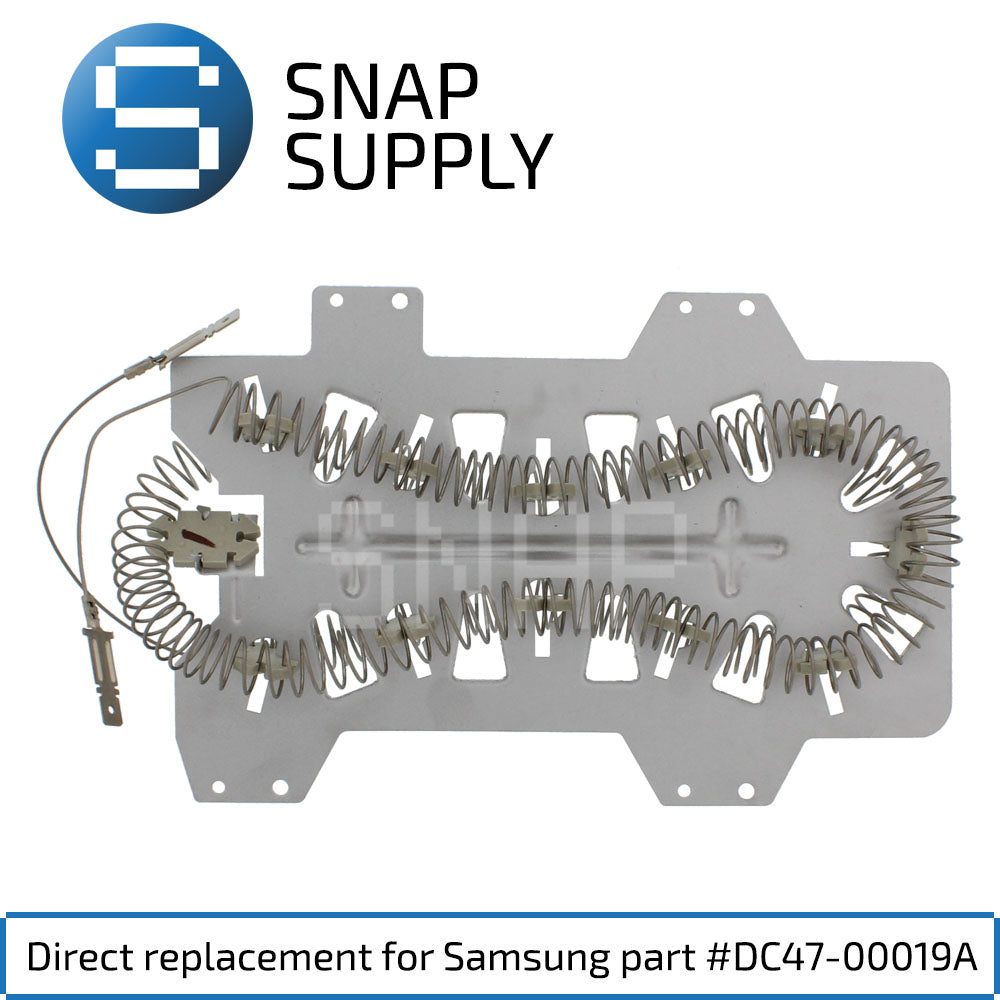 Replacement Dryer Element for SNAP Supply DC47-00019A