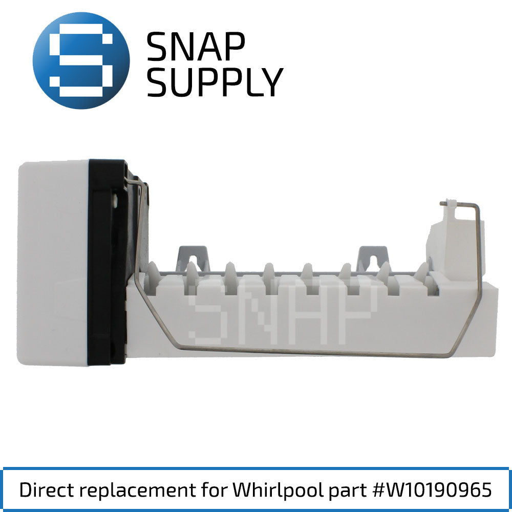 Replacement Ice Maker for SNAP Supply W10190965