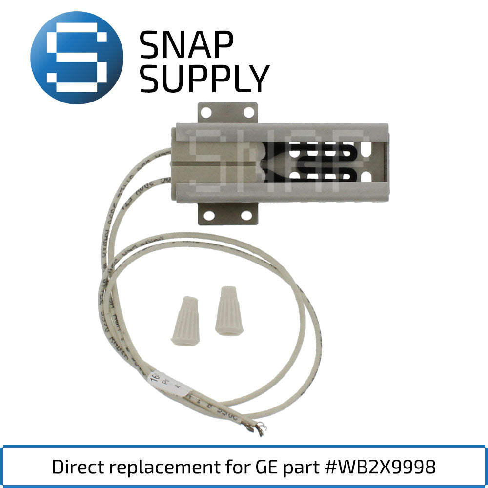 Replacement Range Igniter for SNAP Supply WB2X9998