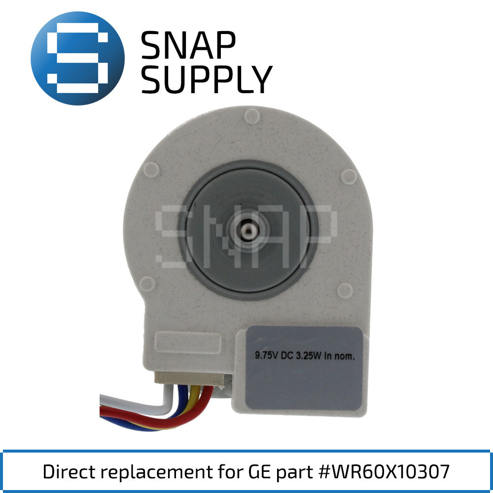 Replacement Evaporator Motor for SNAP Supply WR60X10307