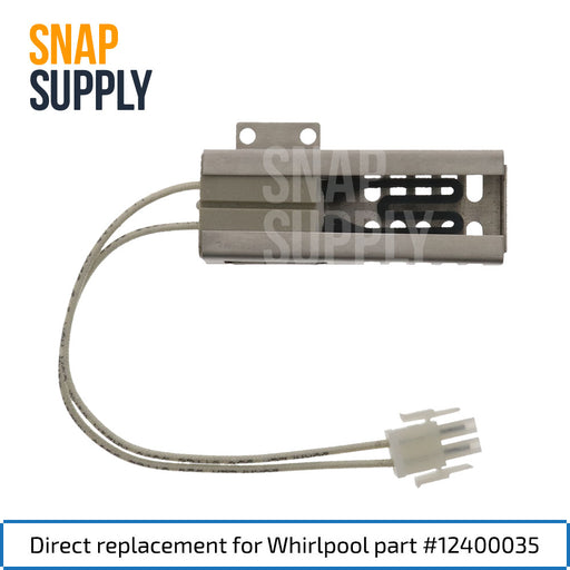 12400035 Range Igniter for Whirlpool - Snap Supply -Oven Parts and Accessory [Product_Sku]