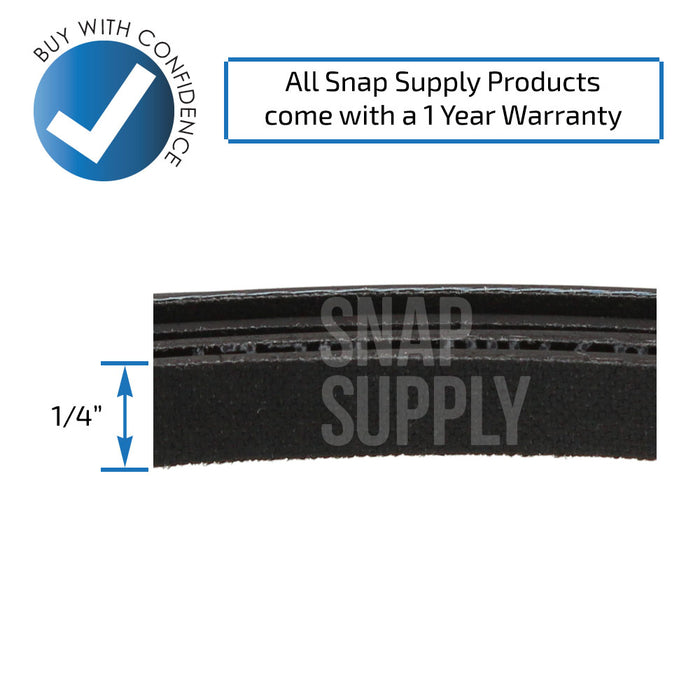 137292700 Dryer Belt for Frigidaire - Snap Supply -Dryer Parts and Accessory [Product_Sku]