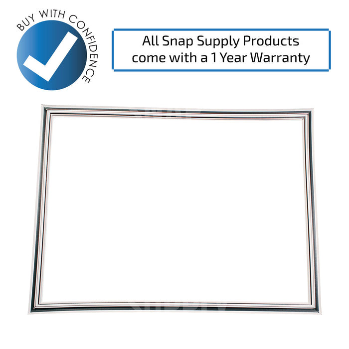 241872502 Door Gasket (White) for Frigidaire - Snap Supply -Refrigerator Parts and Accessory [Product_Sku]