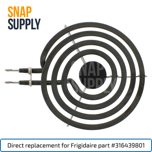 "316439801 6"" Surface Element for Frigidaire - Snap Supply -Element [Product_Sku]"