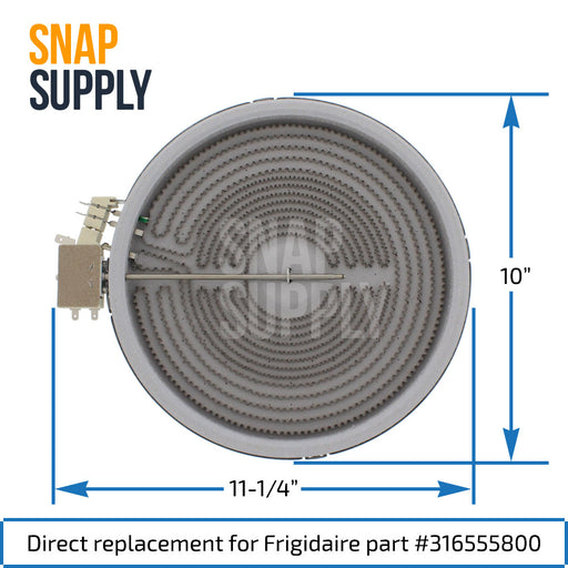 316555800 Surface Element for Frigidaire - Snap Supply -Element [Product_Sku]