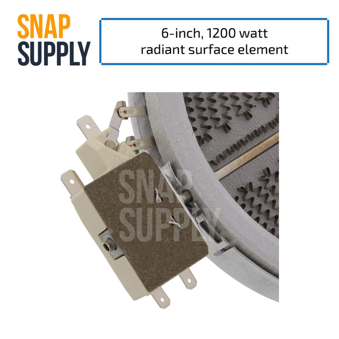 318178110 Surface Element for Frigidaire - Snap Supply -Element [Product_Sku]