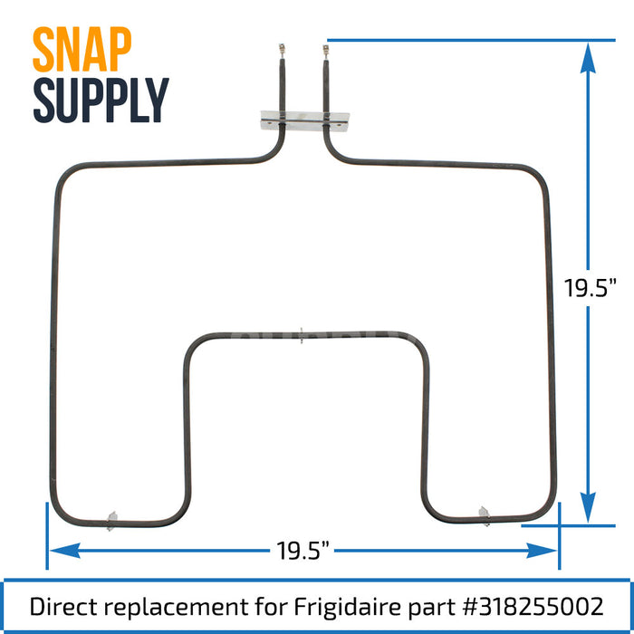 318255002 Bake Element for Frigidaire - Snap Supply -Element [Product_Sku]