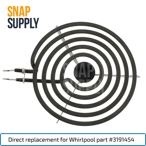 "3191454 8"" Surface Element for Whirlpool - Snap Supply -Element [Product_Sku]"