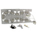 Dryer element & thermostat kit for Whirlpool