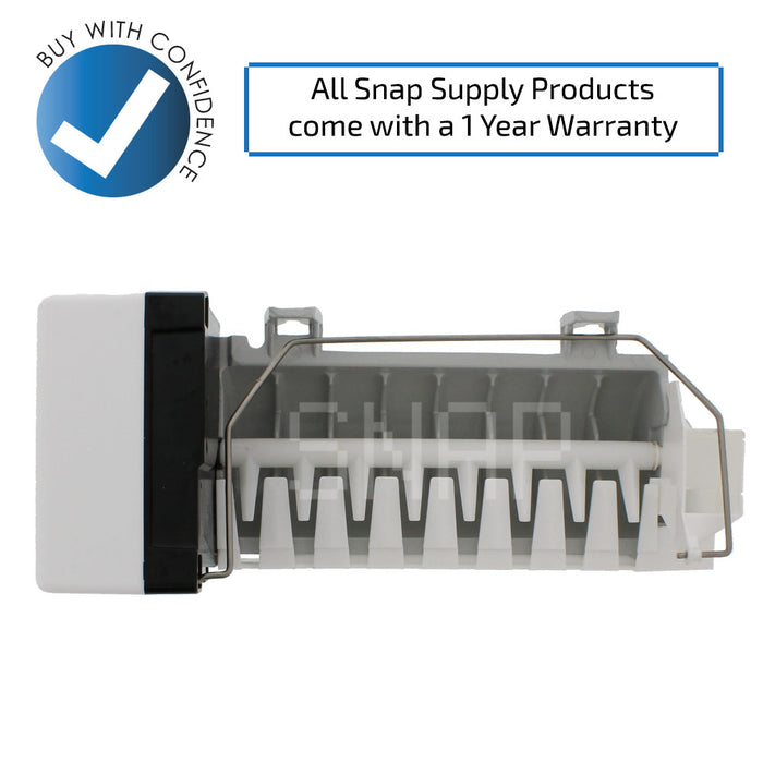 4317943 Ice Maker for Whirlpool - Snap Supply -Refrigerator Parts and Accessory [Product_Sku]