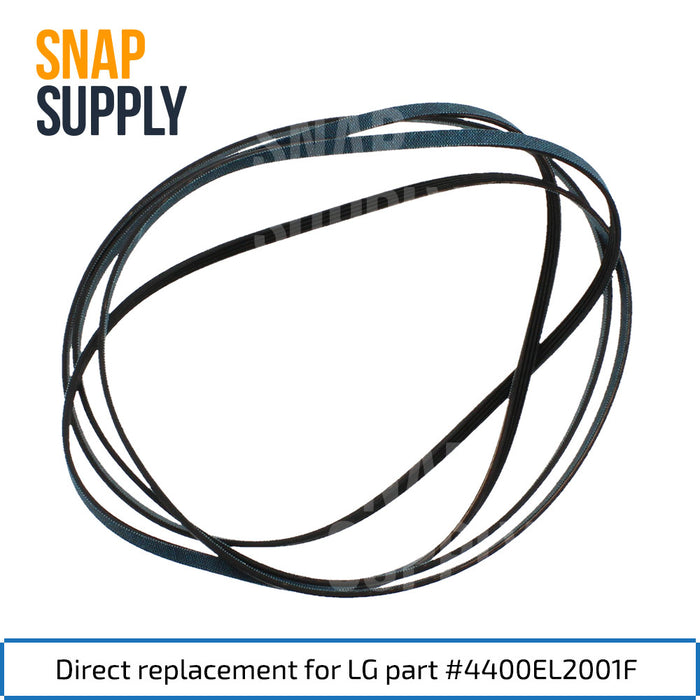 4581EL2002A 4400EL2001F 4560EL3001A Dryer Maintenance Kit for LG - Snap Supply -Dryer Parts and Accessory [Product_Sku]