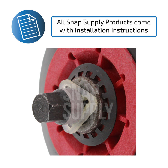 4581EL2002A Drum Roller for LG - Snap Supply -Dryer Parts and Accessory [Product_Sku]