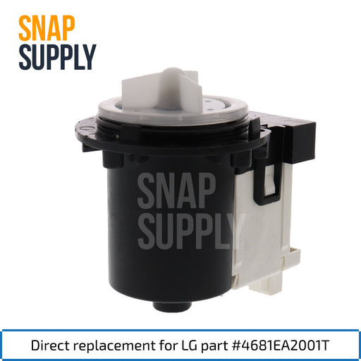 4681EA2001T Washer Pump for LG - Snap Supply -Home Improvement [Product_Sku]