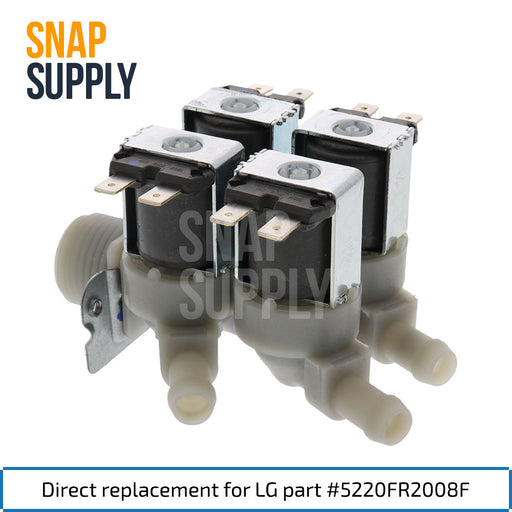 5220FR2008F Water Valve for LG - Snap Supply -Home Improvement [Product_Sku]