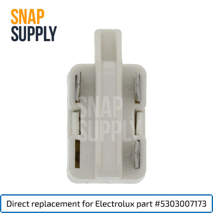 5303007173 Three Terminal Relay for GE - Snap Supply -Refrigerator Parts and Accessory [Product_Sku]