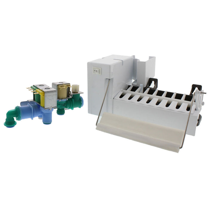 5303918344 & 242252702 Ice Maker & Water Valve Kit for Frigidaire