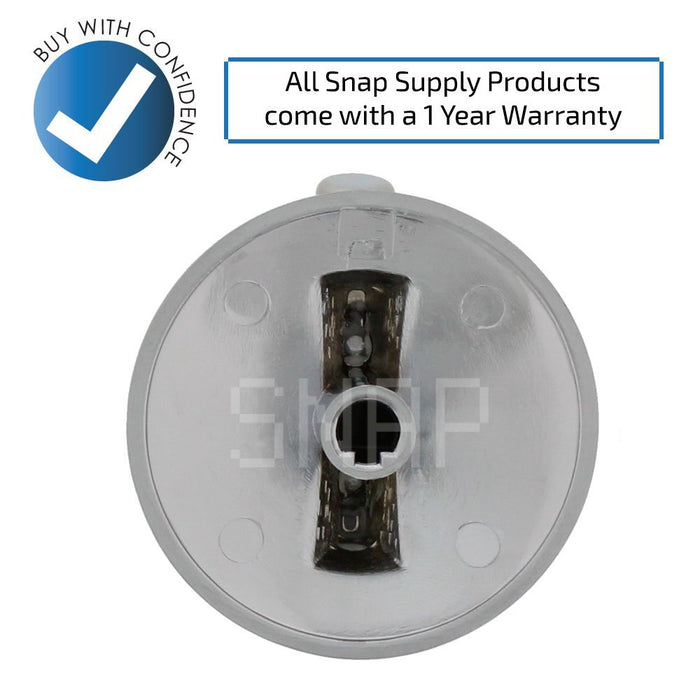 74007733 Whirlpool Burner Knob - Snap Supply -Oven Parts and Accessory [Product_Sku]