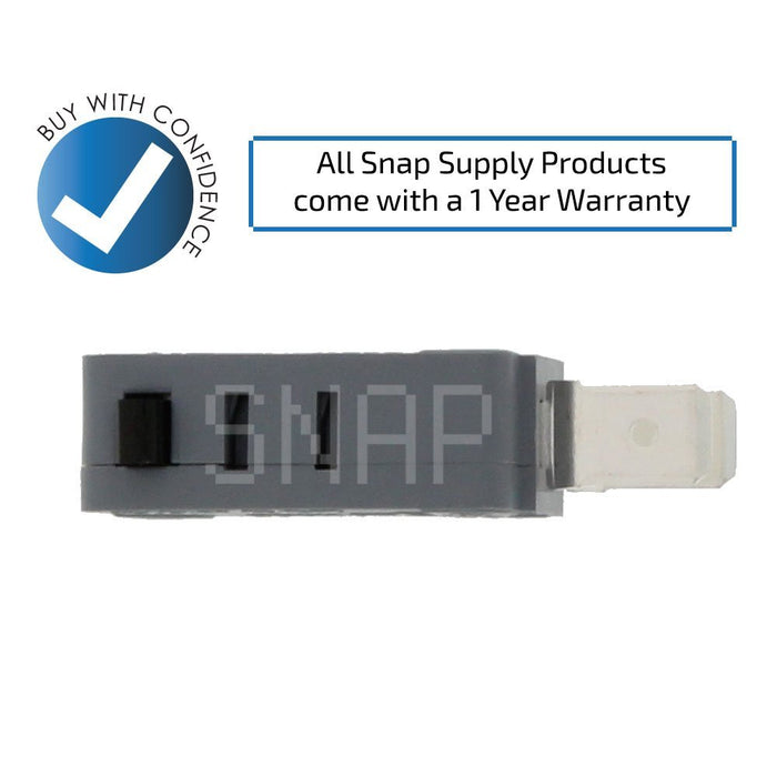 W10211972 Microwave Button Switch for Whirlpool - Snap Supply -Home Improvement [Product_Sku]