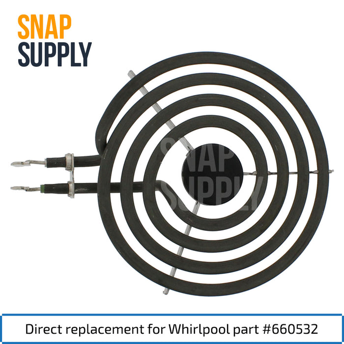 "660532 Elemento de superficie de 6 ""para Whirlpool - Snap Supply -Element [Product_Sku]"