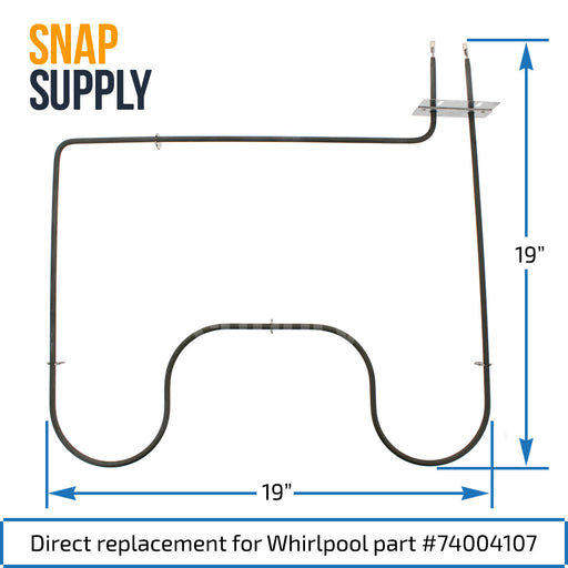 Bake Element for Whirlpool - Snap Supply -Element [Product_Sku]