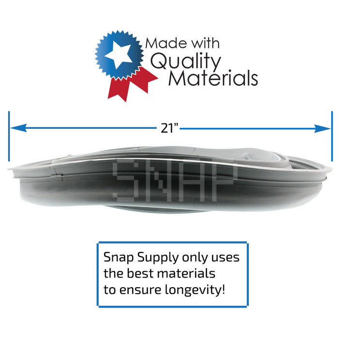 8182119 Door Boot for Whirlpool - Snap Supply -Home Improvement [Product_Sku]