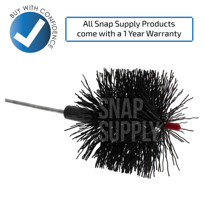 B68C Dryer Vent Brush - Snap Supply -Dryer Parts and Accessory [Product_Sku]