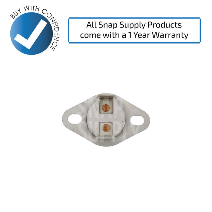 DC47-00015A Dryer Thermostat for Samsung - Snap Supply -Dryer Parts and Accessory [Product_Sku]