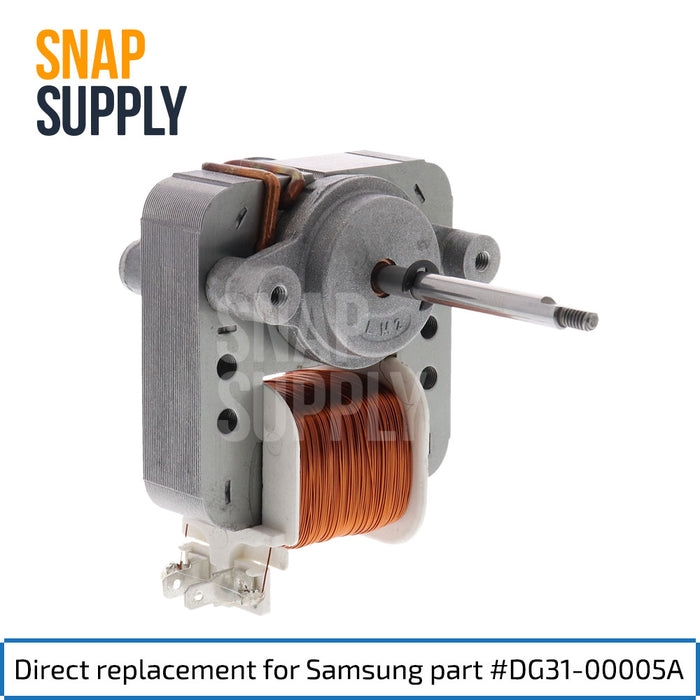 DG31-00005A Convection Motor for Samsung - Snap Supply -Oven Parts and Accessory [Product_Sku]
