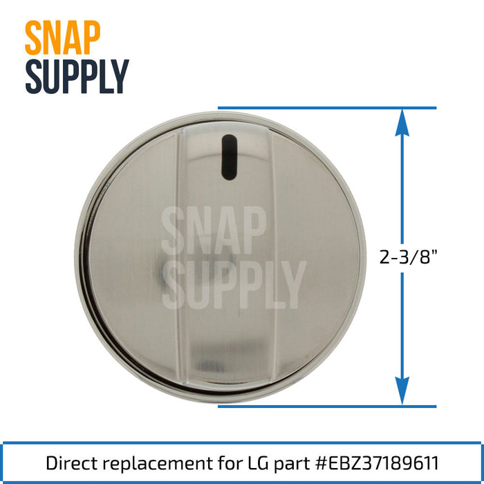 EBZ37189611 Gas Range Burner Knob for LG - Snap Supply -Oven Parts and Accessory [Product_Sku]