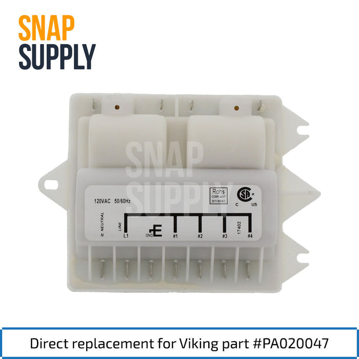PA020047 Spark Module for Viking - Snap Supply -Oven Parts and Accessory [Product_Sku]