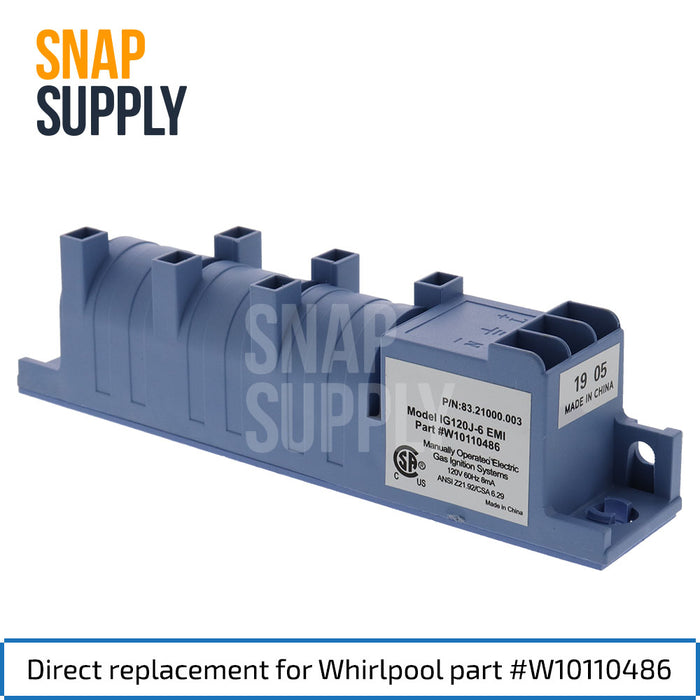 W10110486 Spark Module for Whirlpool